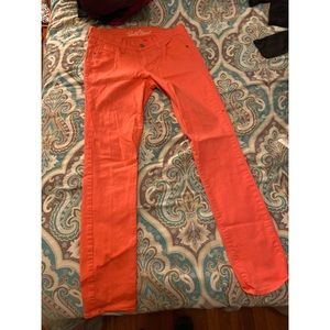 Coral jeans from old navy
